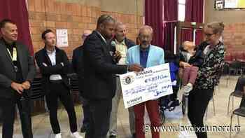 Bergues: les Kiwanis font un don de près de 5000 euros au petit Gabin - La Voix du Nord