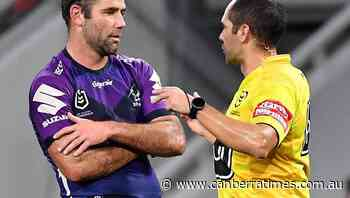 McInnes leads push back to NRL ref's call - The Canberra Times