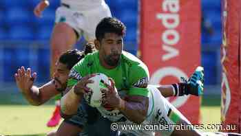Soliola's NRL career at Raiders in doubt - The Canberra Times