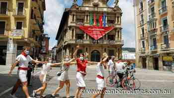 Virus stops the bull runs in Pamplona - The Canberra Times