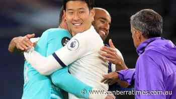 Mourinho OK with Lloris-Son spat in win - The Canberra Times