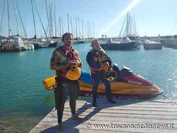 Barca in avaria, a bordo anche un bambina - Toscana Media News