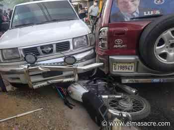 Vídeo: Aparatoso accidente durante Caravana del PRM en Dajabón deja varios heridos - El Masacre