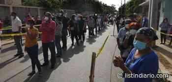 Dajabón: la gente vota en orden y después los militares los invitan a abandonar el lugar - Listín Diario