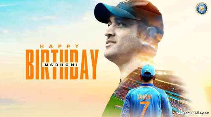Mahendra Singh Dhoni turns 39, BCCI wishes former Team India skipper - Zee News