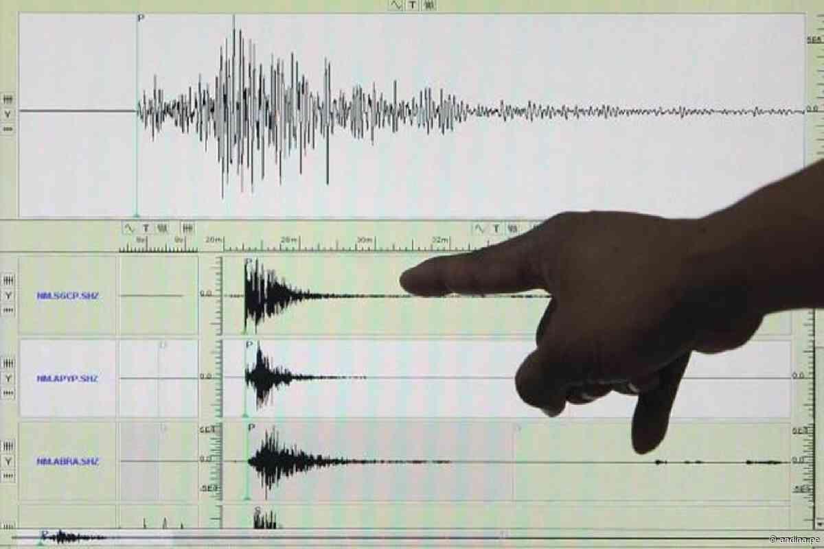 Sismos de moderada magnitud se registraron hoy en Huancavelica y Tacna - Agencia Andina