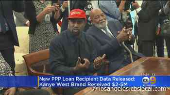 Kanye West's Company Receives More Than $2M In Federal Small Business Loans - CBS Los Angeles