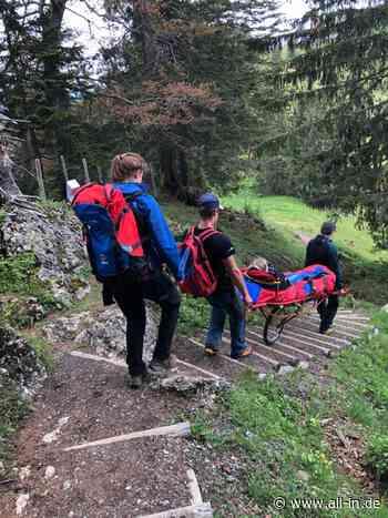 Rettungshubschrauber-Einsatz: Bergwacht im Einsatz: Zwei Verletzte in den Bergen bei Immenstadt - Immenstadt i - all-in.de - Das Allgäu Online!