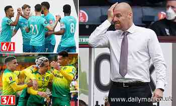 Norwich, Aston Villa or Crystal Palace - where next for Sean Dyche after Burnley?