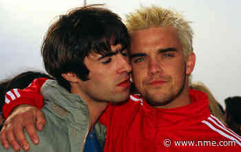 """Robbie Williams says he needs to """"find someone new to resent"""" after resolving Liam Gallagher feud - NME"""