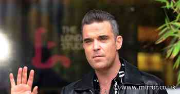 Robbie Williams searching for new 'arch enemy' after ending feud with Liam Gallagher - Mirror Online