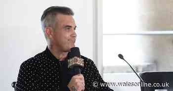 Robbie Williams hints at new Take That project by confirming he's penning songs with Gary Barlow - Wales Online