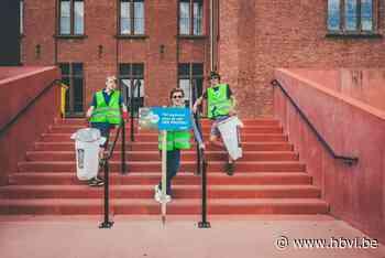 Ploggers brengen propere straten in kaart via app - Het Belang van Limburg