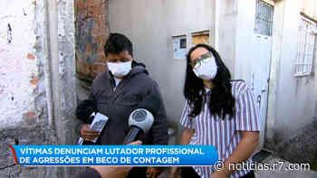 Lutador é suspeito de agredir casal em Contagem (MG) - HORA 7
