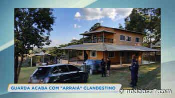 Guarda Municipal interrompe festa julina com 50 pessoas em Contagem - HORA 7