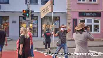Horb a. N.: Flashmob für die Grundrechte - Schwarzwälder Bote