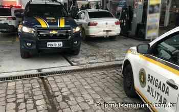 Quadrilha é presa com veículo roubado em Garibaldi - jornalsemanario.com.br