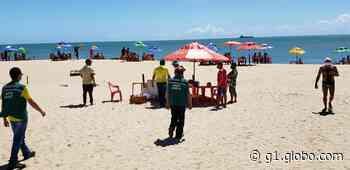 Agência reforça fiscalização durante pandemia e fecha barraca de praia em Fortaleza - G1