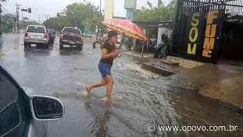 Chove forte em Fortaleza e Região Metropolitana; tendência é que continue ao longo do dia - O POVO