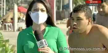 Homem invade link da GloboNews e grita 'Globo lixo' em Fortaleza - UOL