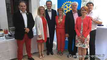 Rotary de Nogent-sur-Seine: Antoinette Regnault succède à J.-Marie Dargent - L'Est Eclair