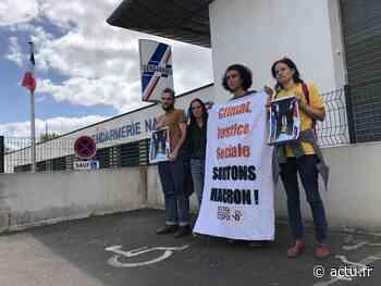 Portraits d'Emmanuel Macron décrochés près de Rennes : deux militants poursuivis pour vol - actu.fr