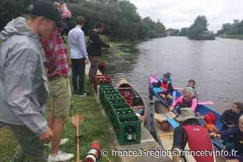Rennes : la bière prend l'eau et se fait livrer en canoë - France 3 Régions