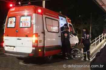 Mulher é lesionada na coxa com golpe de faca no Pedreira - DeFato Online