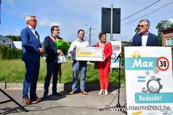 """Bewoners sparen 947 euro door zich aan de snelheid te houden: """"Geld gaat naar verkeersveiligheid"""""""