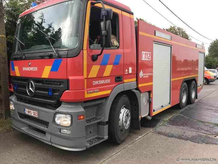 Brandweer rukt uit voor fout gelopen onkruidverbranding