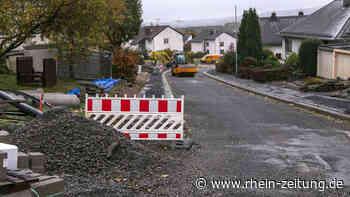 Zweiter Bauabschnitt: In Westerburg wird der Straßenausbau fortgesetzt - Rhein-Zeitung