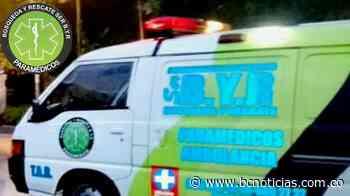 Una ciclista se accidentó en la entrada a Villamaría - BC NOTICIAS - BC Noticias