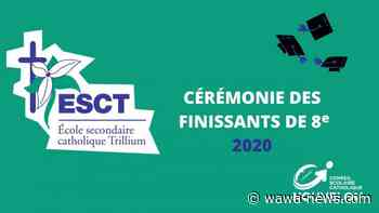 ÉSC Trillium graduating students celebrated - Wawa-news.com