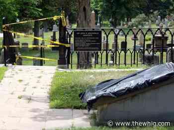 Police investigate vandalism at Sir John A. Macdonald's gravesite - The Kingston Whig-Standard