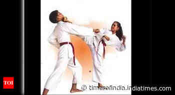 MP: Taekwondo, karate training kick off - Times of India