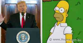 Why Homer Simpson would vote for Donald Trump - 9News
