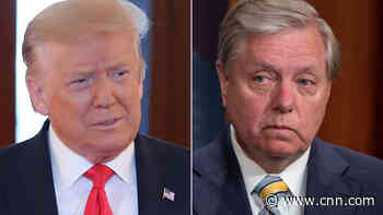 Lindsey Graham breaks with Trump on his NASCAR tweet - CNN