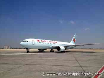 Air Canada bids farewell to North Bay - My West Nipissing Now