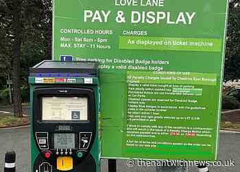 READER'S LETTER: Suspend all car park charges in Cheshire East - Nantwich News