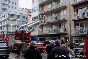 Appartement in Nieuwpoort tijdelijk geëvacueerd - Focus en WTV