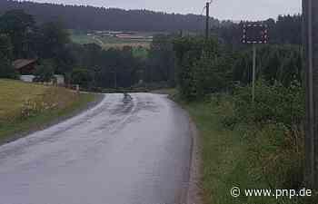 Tempo 30 und Geschwindigkeitsmessung am Ayrhof - Kollnburg - Passauer Neue Presse