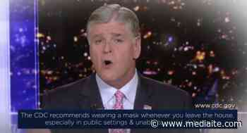 WATCH: Hannity to Encourage Mask Wearing in PSA Airing on Fox News - Mediaite