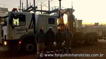 Intercooperação: Coopera ajuda a reconstruir redes destruídas pelo ciclone em Turvo - Forquilhinha Notícias