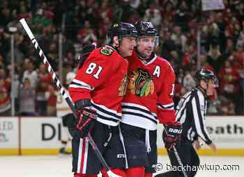 Who was better, Marian Hossa or Patrick Sharp?