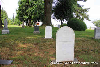 Gravestones repaired at Surrey Centre Cemetery – Peace Arch News - Peace Arch News