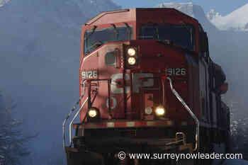 Collision results in train derailment just east of Golden – Surrey Now-Leader - Surrey Now-Leader