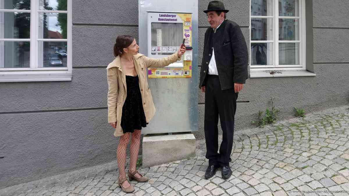 Der Landsberger Kunstautomat ist neu befüllt