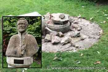 Statue of Haile Selassie found destroyed in Cannizaro Park