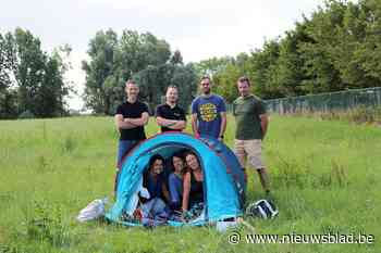 Poaldorppekkers dopen Dentergem om tot Camping Tentergem (Dentergem) - Het Nieuwsblad
