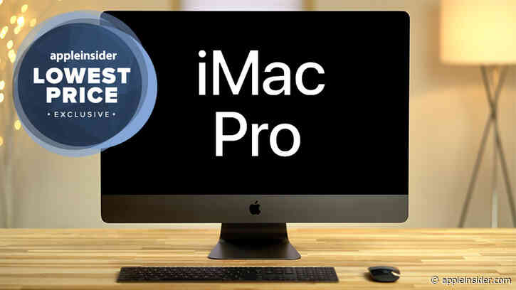 Deal alert: Save $2,400 on this 10-core iMac Pro